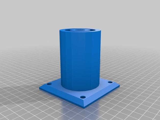 طراحی سه بعدی پایه میز
