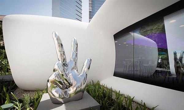 اولین ساختمان ساخته شده با پرینتر سه بعدی در دبی