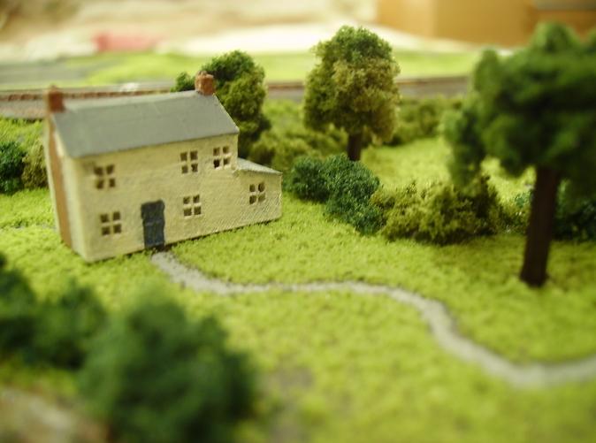 پرینتر 3 بعدی در ماکت سازی و مدل های معماری- خانه روستایی