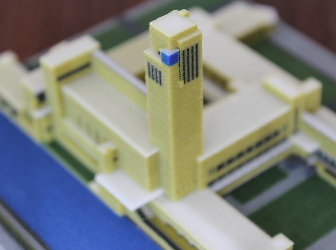 پرینتر 3 بعدی در ماکت سازی و مدل های معماری- ساختمان