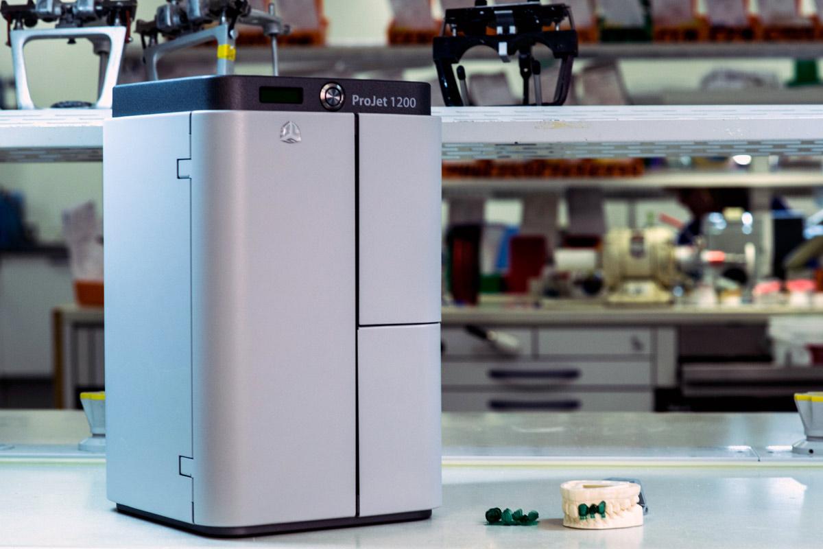 پرینتر سه بعدی طلاسازی و دندانپزشکی Projet 1200