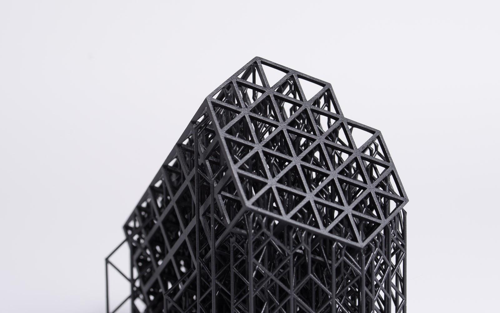 طراحی های پیچیده و مشکل را می توان به آسانی با برخی فناوری های چاپ سه بعدی تولید کرد