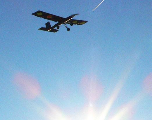 پرواز هواپیما تولید شده با پرینتر سه بعدی